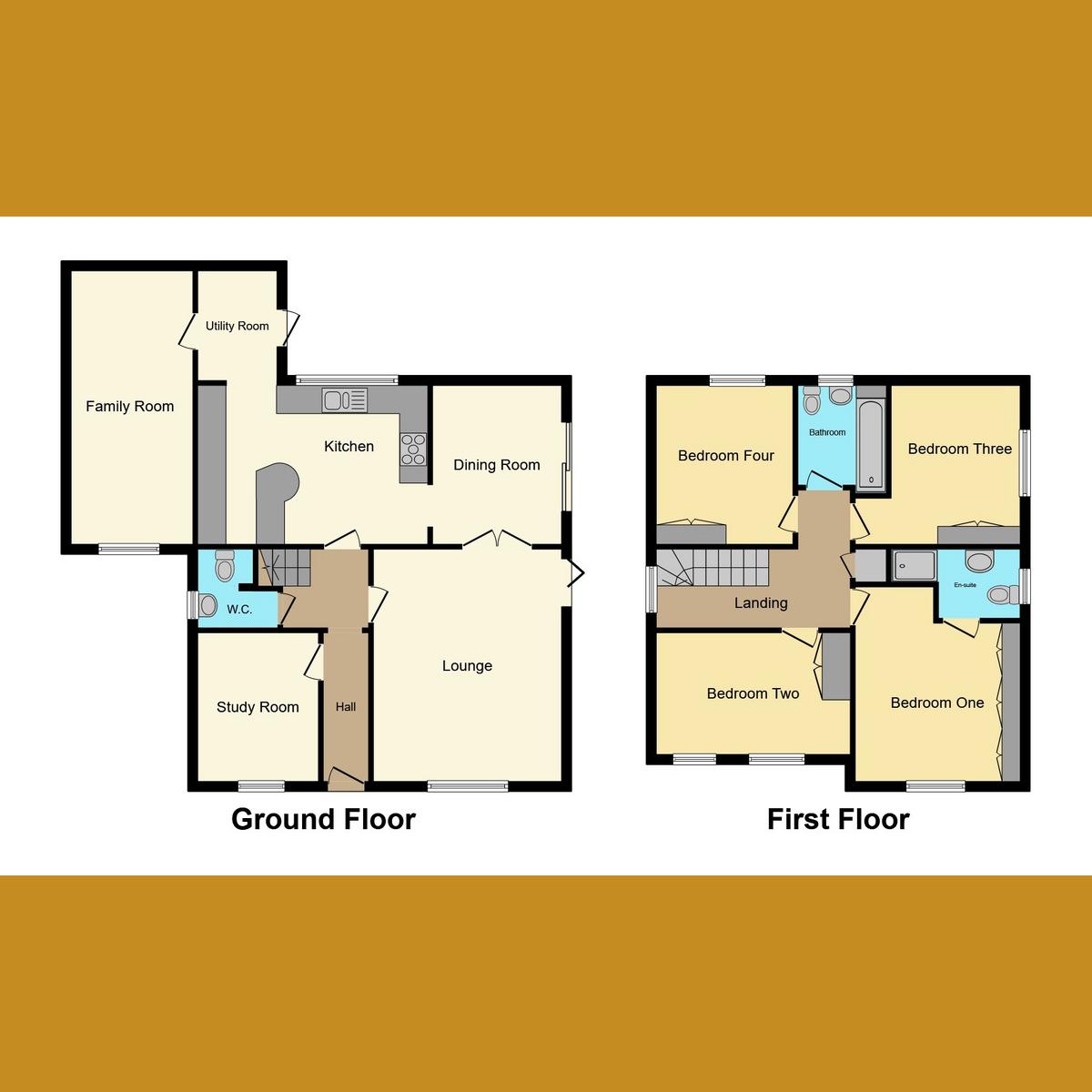 Floorplan 1 of Jubilee Close, Hockley, SS5