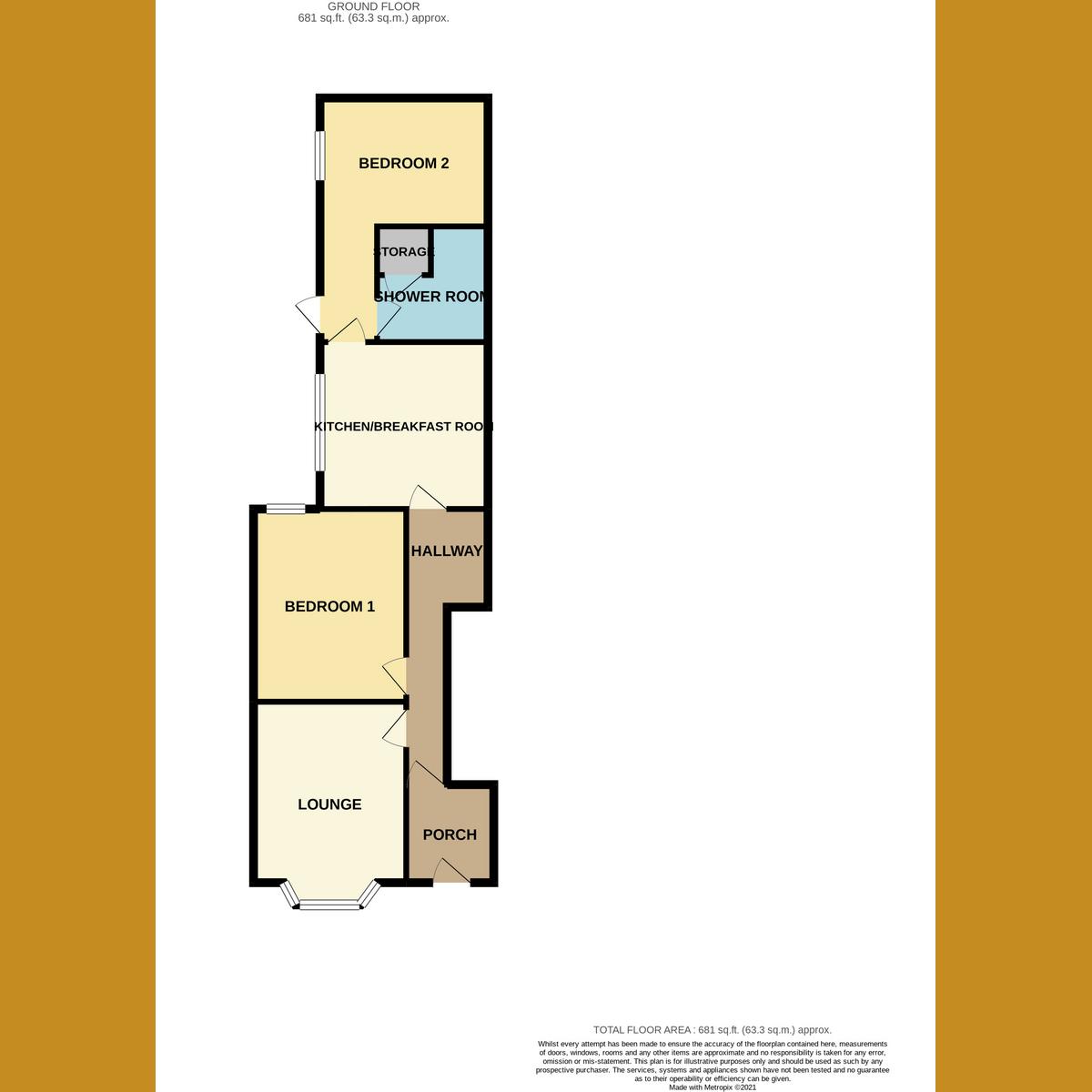 Floorplan 1 of Grange Road, Leigh-on-sea, SS9