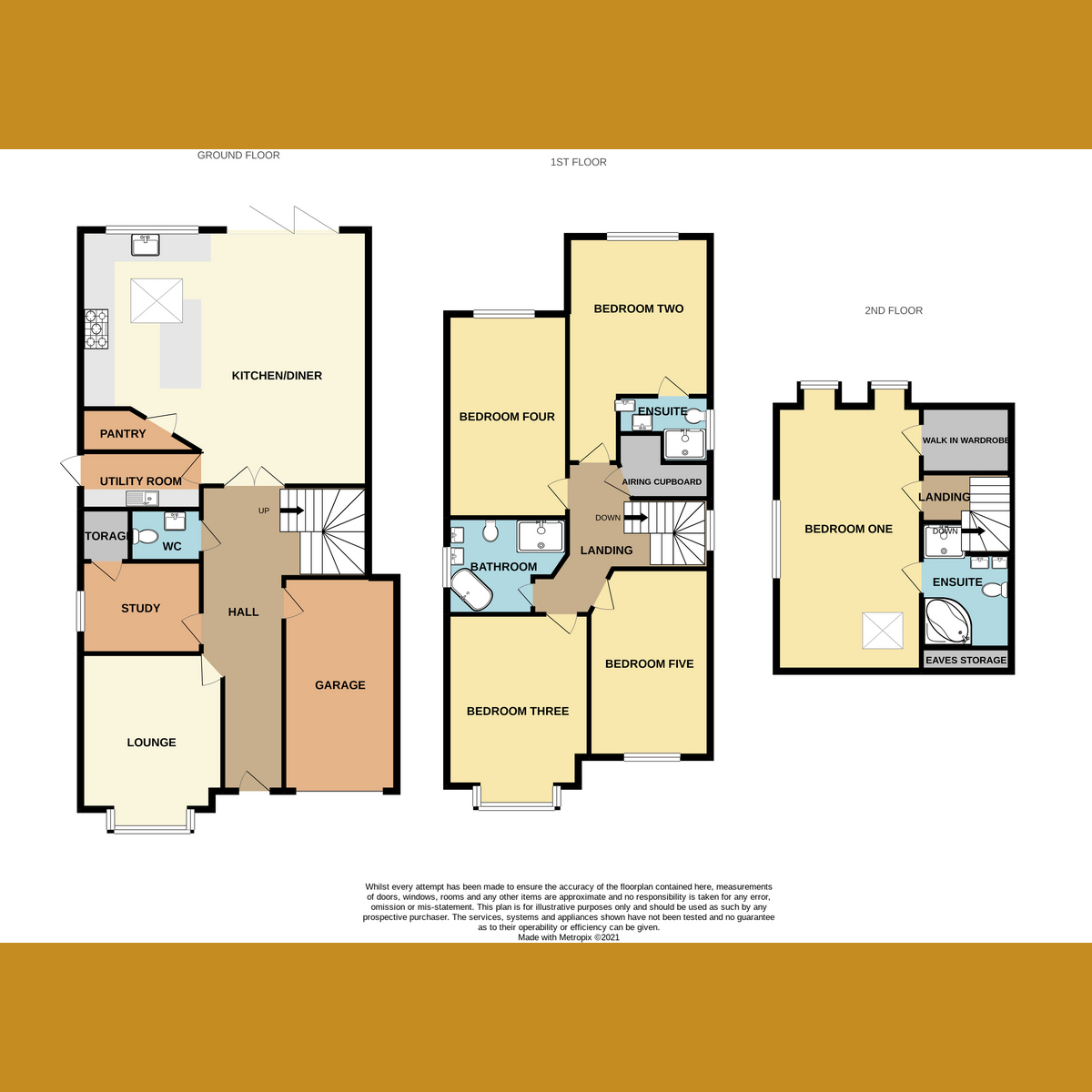 Floorplan 1 of Nelson Road, Rayleigh, SS6