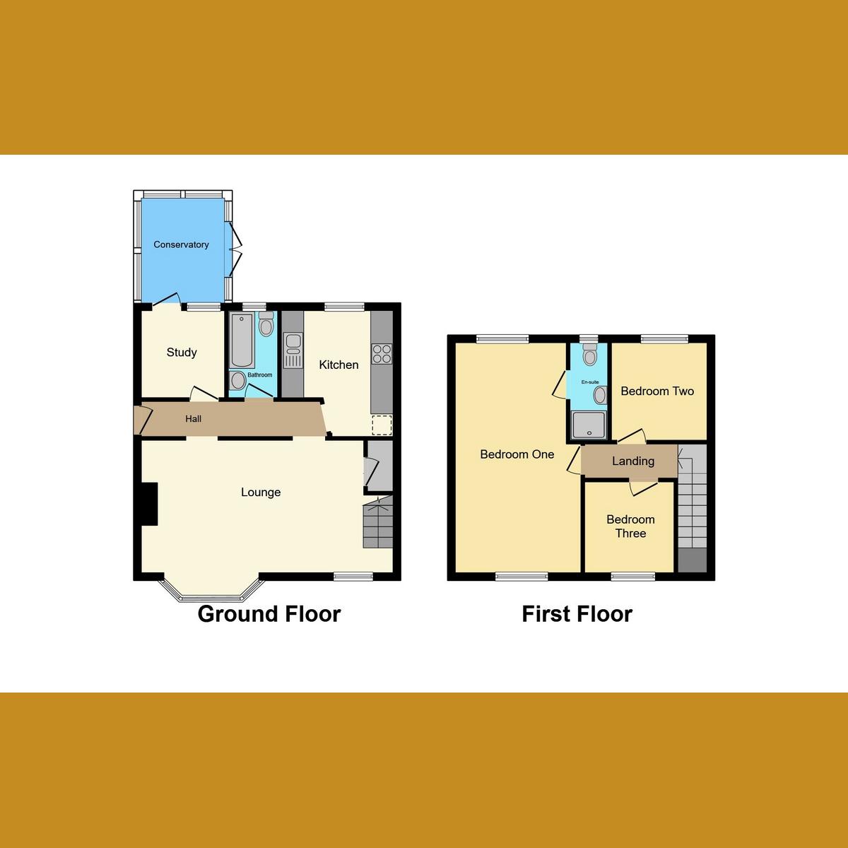 Floorplan 1 of Hatfield Road, Rayleigh, SS6