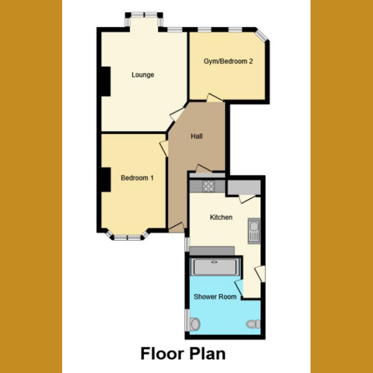 Floorplan 1 of Cossington Road, Westcliff-on-sea, SS0