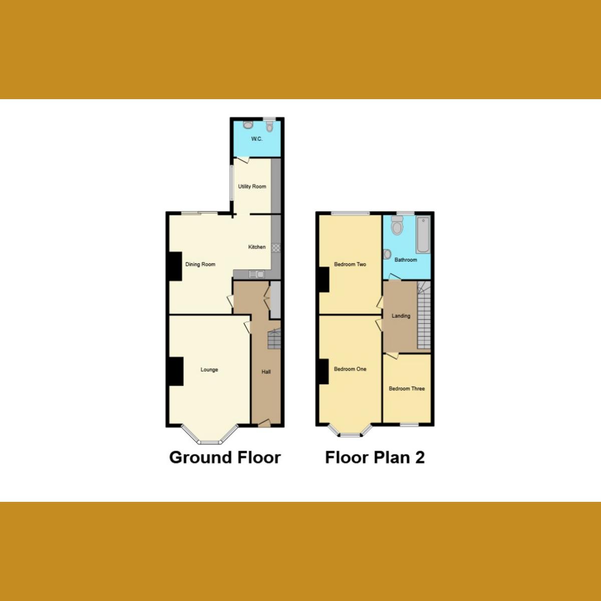 Floorplan 1 of Ronald Park Avenue, Westcliff-on-Sea, SS0
