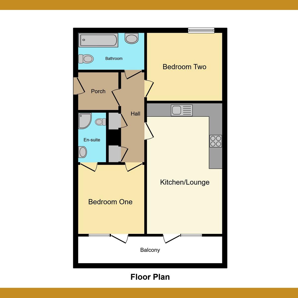 Floorplan 1 of London Road, Westcliff-on-sea, SS0